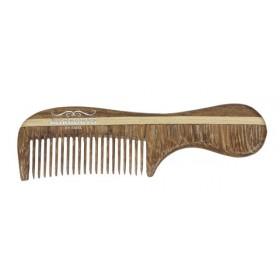 Peignes Rosewood Mini Moustache x 36 pcs en bois de rose 7.4cm
