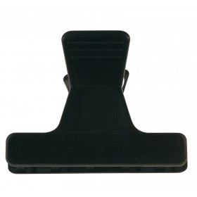 931003202 Pinces sépare-mèches noir 12pcs 5.5cm