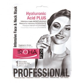 IROHA Intensive Face & Neck Mask MOISTURIZING Hyaluronic Acid PLUS 35 ml