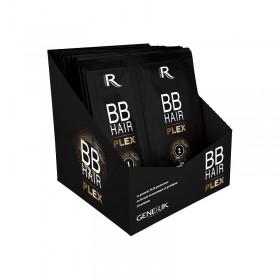 GENERIK BB Hair Plex 1+2 : Traitement reconstructeur 7ml + Soin renforçateur 15ml Présentoir de 20pcs