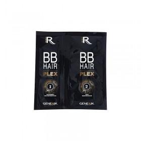 BB Hair Plex 1+2 : Traitement reconstructeur 7ml + Soin renforçateur 15ml 1 kit