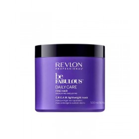 BE FABULOUS Daily Care Masque léger C.R.E.A.M. cheveux fins 500ml