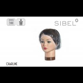 5180533 CHARLINE Charlottes jetables 100 pcs.