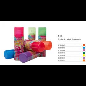 FLUO Spray de couleurs pour cheveux fluorescent