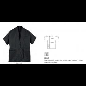 Kimono noir taille S-M / M-L