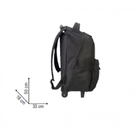 SAC A DOS BACKPACK AVEC TROLLEY 33X19X50
