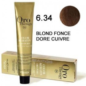OROTHERAPY COLOR KERATIN N°6.34   100ML