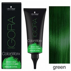 IGORA COLORWORX Concentré de pigments Vert100 ml