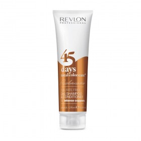 REVLONISSIMO 45 days total color care sulfate free CONDITIONING SHAMPOO for intense copper 275ml