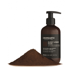 CROMEARTH Burnt Umber Mask (Châtain) 250ml