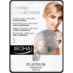 IROHA FOIL Tissue mask - Sauna effect HYDRA GLOWING - DIVINE COLLECTION