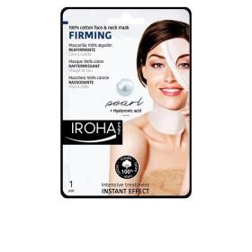 IROHA 100% cotton face & neck mask FIRMING 30 ml
