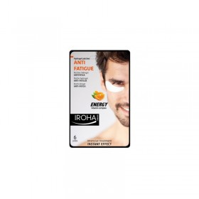 IROHA Hydrogel patches 6 units Anti-fatigue 3 x 3.2 gr (Homme)