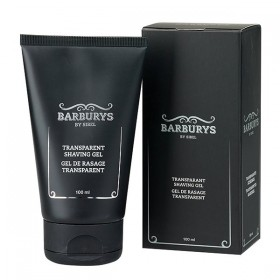 BARBURYS Gel de rasage transparent 100 ml