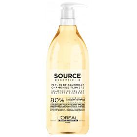 SOURCE Essentielle - Delicate Shampoo -  Délicat - Feuilles de Calendula & Fleurs de Camomille 1500ml