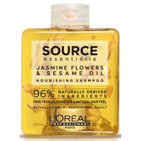 SOURCE Essentielle Nourishing Shampoo - Nourrissant - Fleurs de jasmin et huile de sésame 300ml