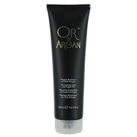 OR & ARGAN Masque illuminant Or 24k & Huile d'Argan 300ml