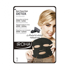 IROHA Black Tissue Mask DETOX 23 ml