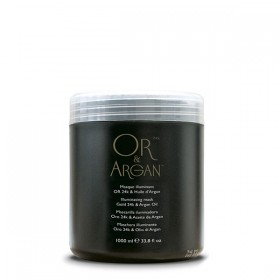 OR & ARGAN Masque illuminant Or 24k & Huile d'Argan 1000ml