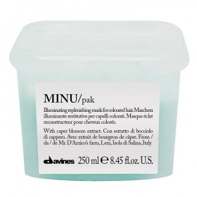 DAVINES MINU Illuminating Replenishing Hair Mask 250ml