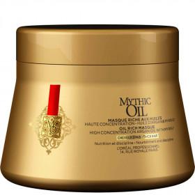 MYTHIC OIL Masque aux huiles - Huile d'Argan & Myrrhe Cheveux épais 200ml