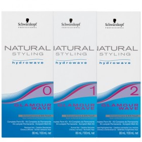 NATURAL STYLING Kit complet permanente 80ml/100ml