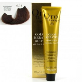 OROTHERAPY COLOR KERATIN N°6.14    100ML