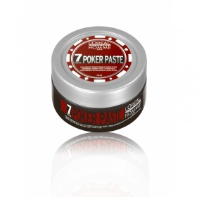 HOMME POKER PASTE Pâte compacte reposionnable fixation ultime 75ml