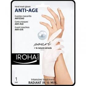 IROHA Hand mask gloves ANTI-AGE 2 x 9 ml