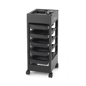 E-TROLLEY Table de service noire