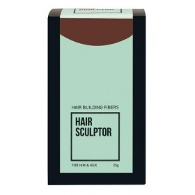 8980512 Hair sculptor fibres capillaires épaississantes châtain moyen 25gr