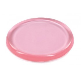 Eponge en silicone rose Ø55 mm