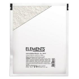 ELEMENTS Masque Alginates Spécifique Visage - Eclat du Teint 30g + Diluant 90 ml