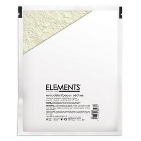 ELEMENTS Masque Alginates Spécifique Visage - Peaux Sèches 30g + Diluant 90 ml