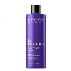 BE FABULOUS Daily Care Shampooing léger C.R.E.A.M. cheveux fins 1000ml