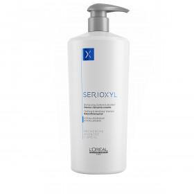 SERIOXYL Shampooing Clarifiant & densifiant Cheveux clairsemés naturels 1000ml