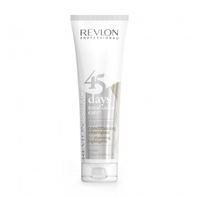 REVLONISSIMO 45 days total color care sulfate free CONDITIONING SHAMPOO for stunning Highlights 275ml