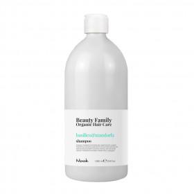 NOOK BEAUTY FAMILY Basilico & Mandorla Shampoo 1000ml