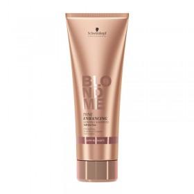BLOND ME shampooing éclat blond caramel ( warm blondes ) sans sulfate 250 ml