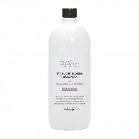 NOOK Bfree Starlight Blonde Illuminating Shampoo 1000ml