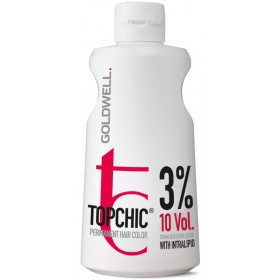 TOP CHIC Cream Developer Lotion 3%  10VOL 1000 ml