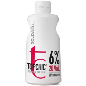 TOP CHIC Cream Developer Lotion 6%  20VOL 1000 ml